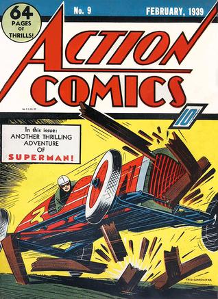 Action Comics Vol. 1 #9 by Homer Fleming, Sven Elven, Gardner F. Fox, Joe Shuster, Bernard Baily, Fred Guardineer, Ken Fitch, Will Ely, Paul Lauretta, Jerry Siegel