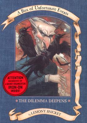 A Box of Unfortunate Events: The Dilemma Deepens (Books 7-9) by Lemony Snicket