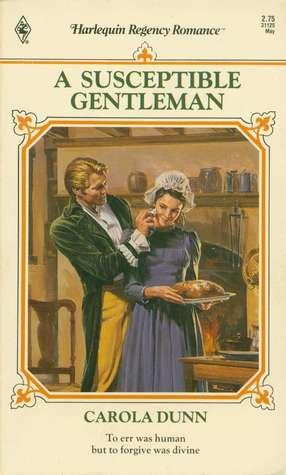 A Susceptible Gentleman by Carola Dunn
