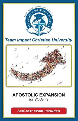Apostolic Expansion for students by Jeff Van Wyk Ph. D.