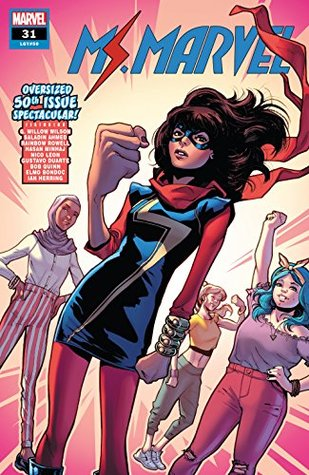 Ms. Marvel (2015-2019) #31 by Various, Nico Leon, Elmo Bondoc, G. Willow Wilson, Gustavo Duarte, Saladin Ahmed, Valerio Schiti, Rainbow Rowell