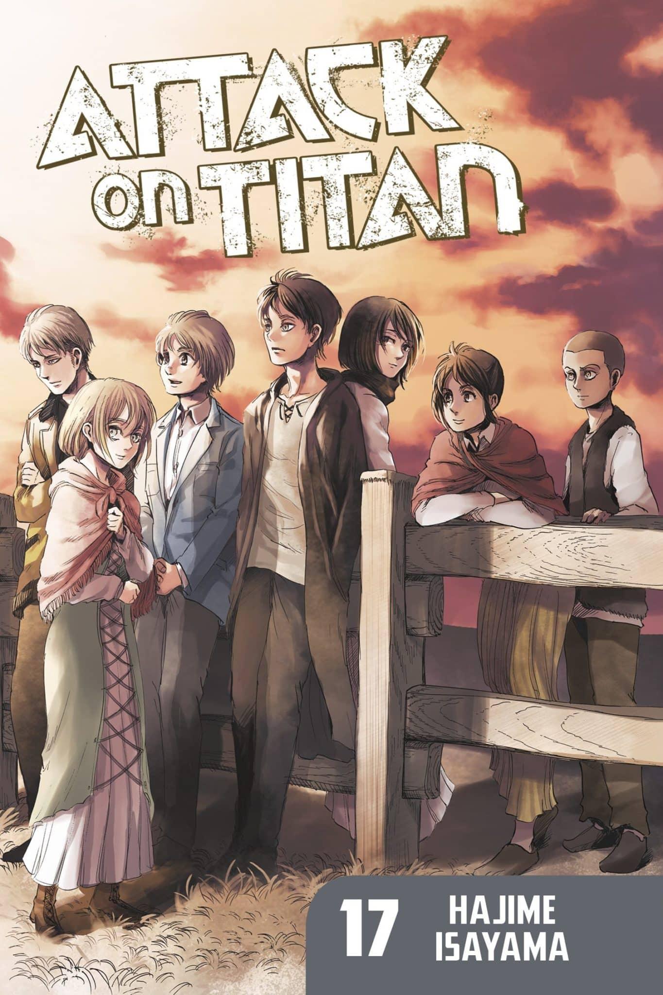 Attack on Titan, Volume 17 by Hajime Isayama