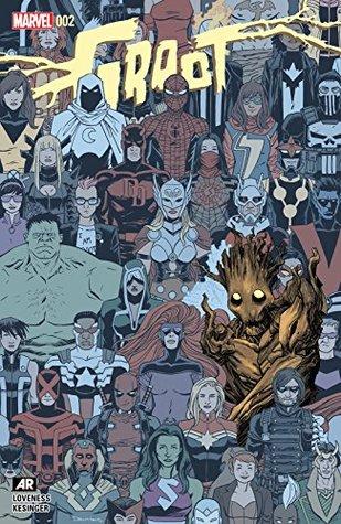 Groot #2 by Brian Kesinger, Jeff Loveness, Declan Shalvey, Jordie Bellaire
