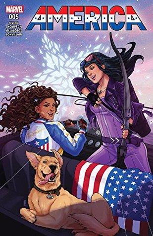 America #5 by Gabby Rivera, Kelly Thompson, Ramon Villalobos, Jen Bartel