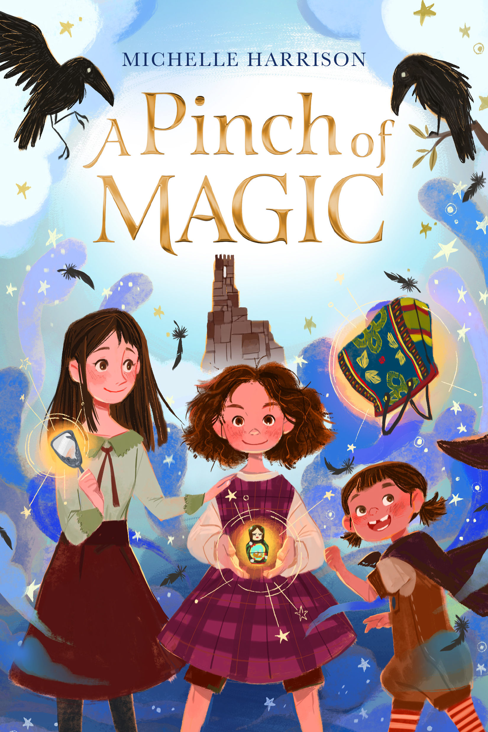 A Pinch of Magic by Michelle Harrison book cover