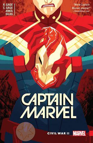 Captain Marvel, Vol. 2: Civil War II by Christos Gage, Kris Anka, Ruth Gage