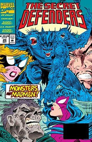 Secret Defenders (1993-1995) #20 by Mike Kanterovich, Steven Butler, Tom Brevoort, Bill Wylie