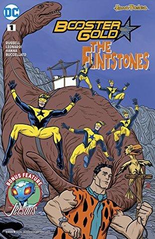 Booster Gold/The Flintstones Special (2017) #1 by Alex Sinclair, Mark Russell, Jimmy Palmiotti, Mike Allred, Rick Leonardi, Steve Buccellato, Scott Hanna, Laura Allred, Amanda Conner, Pier Brito