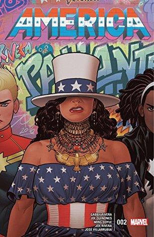 America #2 by Ming Doyle, Gabby Rivera, Joe Quiñones