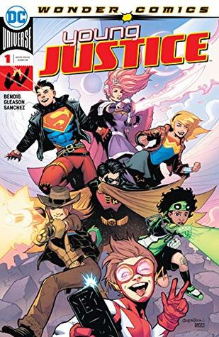 Young Justice (2019-) #1 by Brian Michael Bendis, Alejandro Sanchez, Patrick Gleason, Jamal Campbell, Yasmin Putri, Jorge Jimenez, Amy Reeder, Derrick Chew