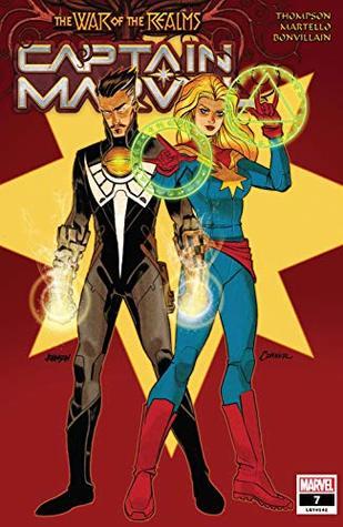 Captain Marvel (2019-) #7 by Annapaola Martello, Kelly Thompson, Dave Johnson, Amanda Conner