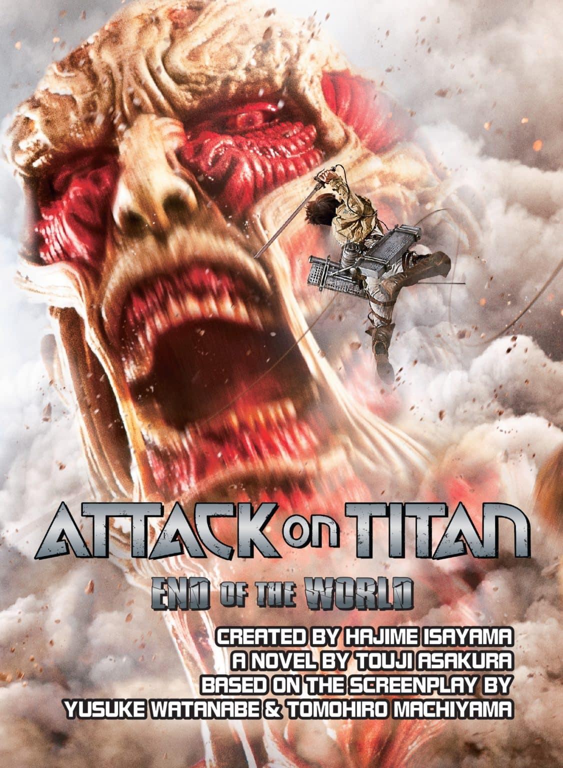 Attack on Titan: End of the World by Touji Asakura