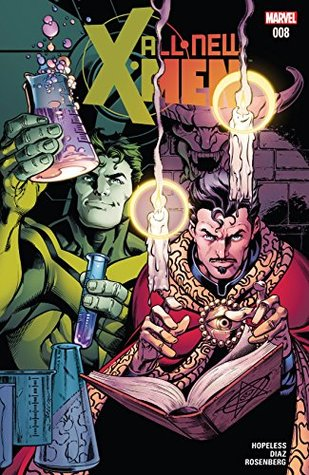 All-New X-Men #8 by Dennis Hopeless, Paco Luque, Mark Bagley