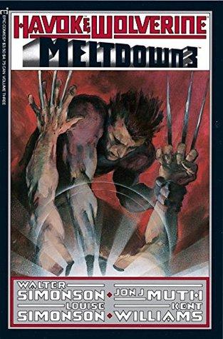 Havok and Wolverine: Meltdown #3 by Walter Simonson, Jon Muth, Louise Simonson, Kent Williams