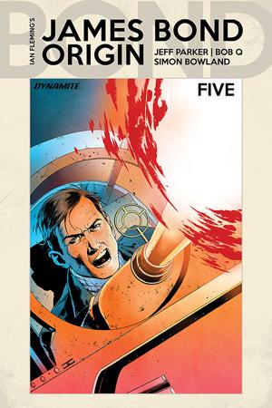 James Bond: Origin #5 by Bob Q, Jeff Parker