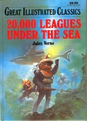 20,000 Leagues Under the Sea (Great Illustrated Classics) by Malvina G. Vogel, Pablo Marcos, Jules Verne