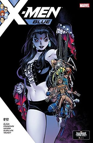 X-Men: Blue #12 by Douglas Franchin, Arthur Adams, Cullen Bunn