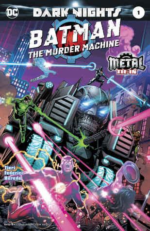 Batman: The Murder Machine #1 by Riccardo Federici, Frank Tieri, James Tynion IV, Rain Beredo