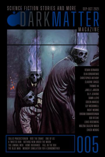 Dark Matter Magazine 005 by Rob Carroll