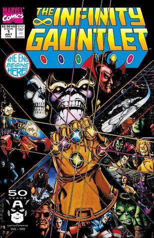 Infinity Gauntlet #1 by Josef Rubinstein, Craig Anderson, Tom Christopher, Jim Starlin