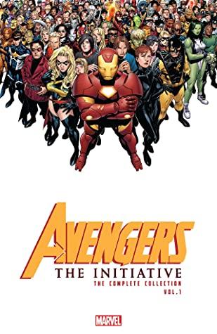 Avengers: The Initiative: The Complete Collection, Vol. 1 by Various, Dan Slott, Christos Gage, Harvey Tolibao, Steve Kurth, Steve Uy, Stefano Caselli