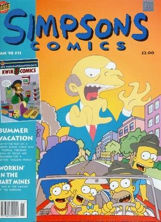 Simpsons Comics, #10 by Matt Groening, Richard Starkings, Tim Bavington, Shaun Cashman, Jeff Rosenthal, Bill Morrison, David Mowry, Robert Kramer, Luis Escobar, Nathan Kane
