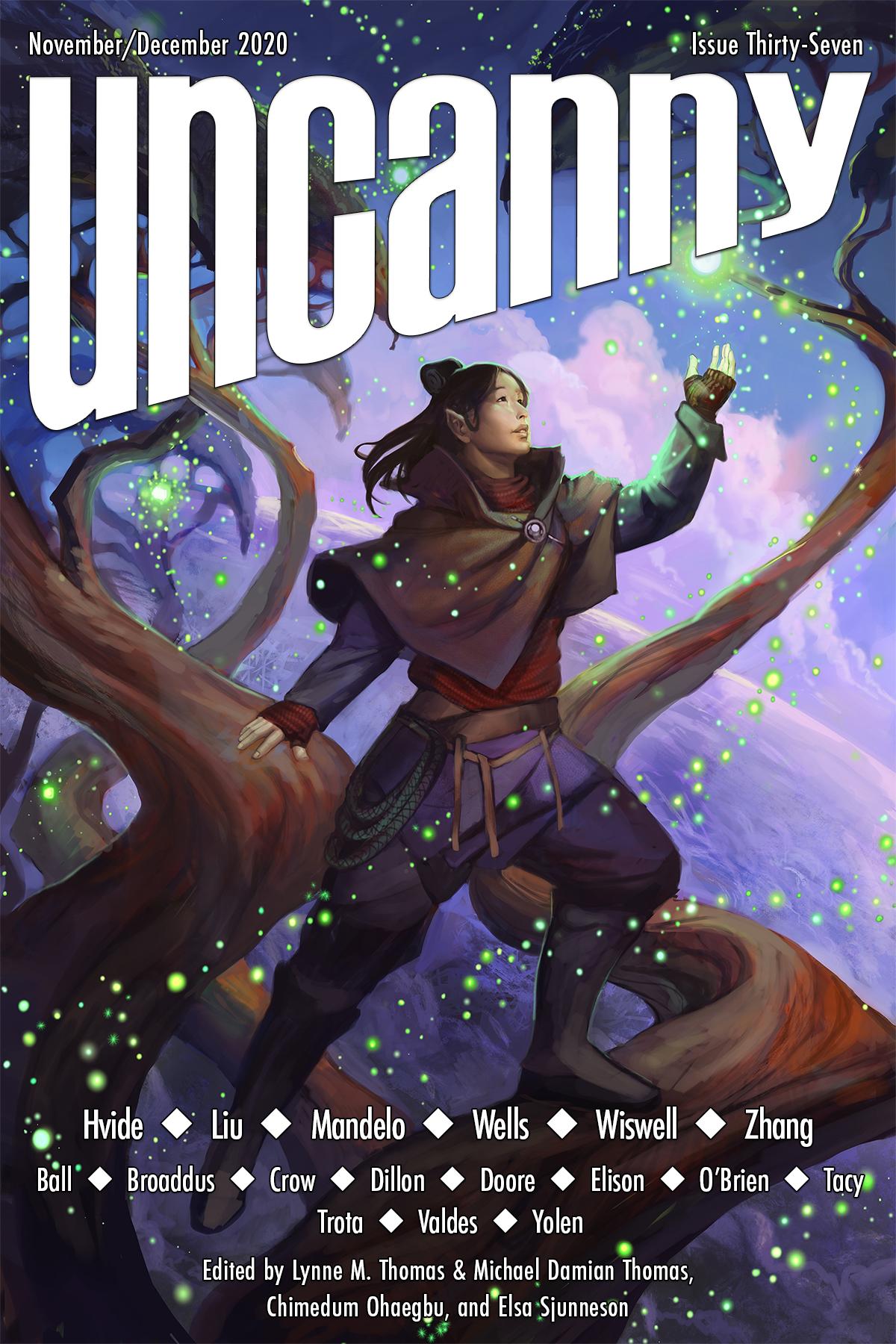 Uncanny Magazine Issue 37: November/December 2020 by Chimedum Ohaegbu, Elsa Sjunneson, Michael Damian Thomas, Lynne M. Thomas