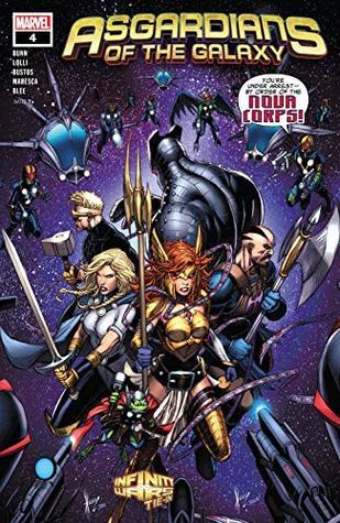 Asgardians of the Galaxy (2018-) #4 by Matteo Lolli, Jason Keith, Cullen Bunn, Dale Keown, Natacha Bustos