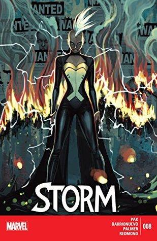Storm #8 by Greg Pak, Al Barrionuevo, Stephanie Hans
