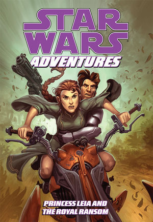Star Wars Adventures: Princess Leia and the Royal Ransom by Jeremy Barlow