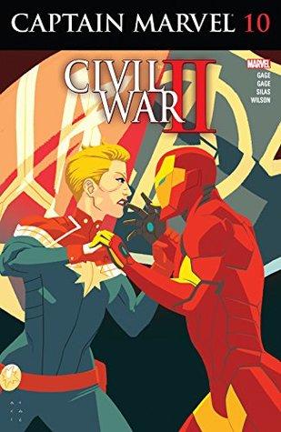Captain Marvel #10 by Christos Gage, Kris Anka, Thony Silas, Ruth Gage