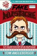 Fake Mustache by Tom Angleberger, Jen Wang