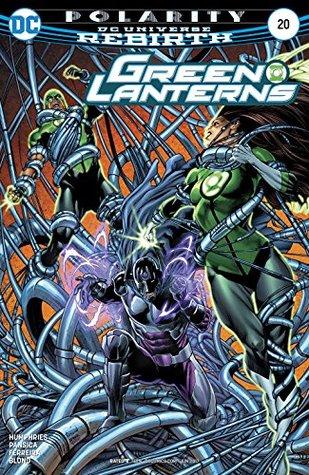 Green Lanterns #20 by Alex Sollazzo, Eduardo Pansica, Julio Ferreira, Daniel Henriques, Blond, Sam Humphries, Jason Wright, Robson Rocha