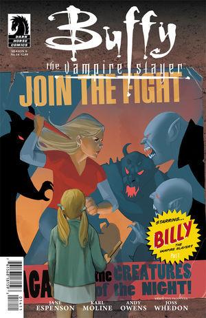 Buffy the Vampire Slayer: Billy the Vampire Slayer, Part 1 by Drew Z. Greenberg, Karl Moline, Jane Espenson, Joss Whedon