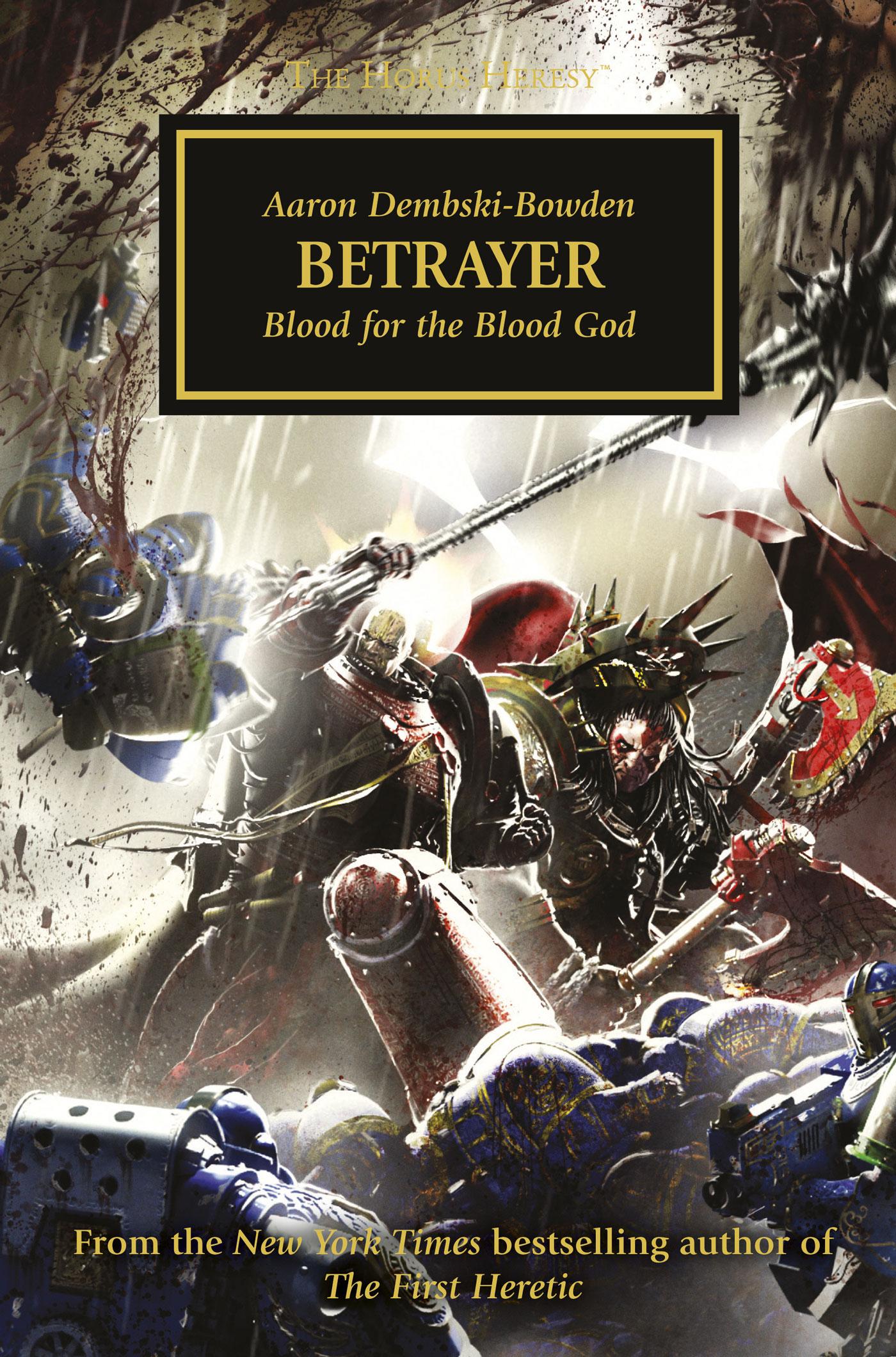 Betrayer by Aaron Dembski-Bowden