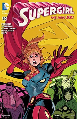 Supergirl #40 by K. Perkins, Mike Johnson, Emanuela Lupacchino
