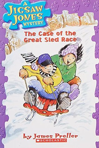A Jigsaw Jones Mystery#08 The Case Of The Great Sled Race by James Preller