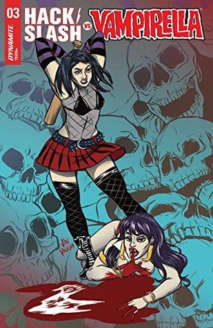 Hack/Slash vs. Vampirella #3 by Rapha Lobosco, Shawn Aldridge