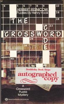 The Crossword Code by Henry Hook, Herbert Resnicow