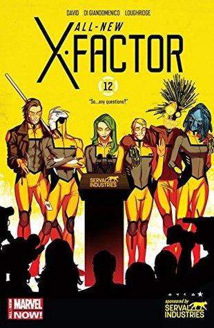 All-New X-Factor #12 by Carmine Di Giandomenico, Jared Fletcher, Peter David, Kris Anka