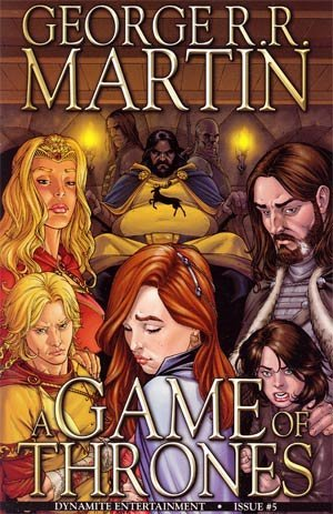 A Game of Thrones #5 by Tommy Patterson, George R.R. Martin, Daniel Abraham