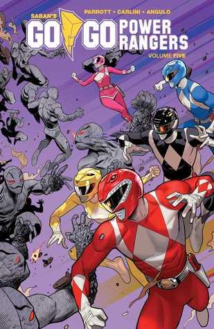 Saban's Go Go Power Rangers, Vol. 5 by Raúl Angulo, Ryan Parrott, Eleonora Carlini