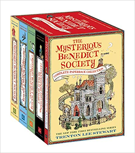 The Mysterious Benedict Society Complete Paperback Collection by Trenton Lee Stewart