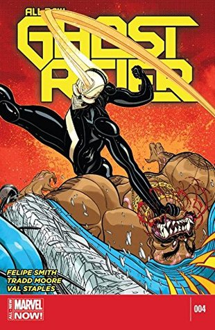 All-New Ghost Rider #4 by Tradd Moore, Felipe Smith