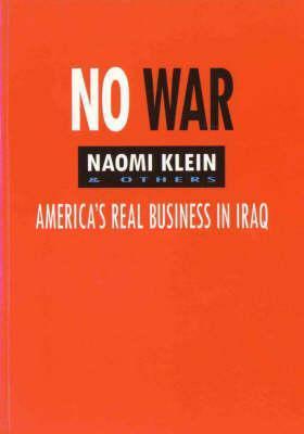 No War by Naomi Klein