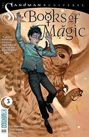 Books of Magic (2018-) #3 by Jordan Boyd, Tom Fowler, Kat Howard, Kai Carpenter