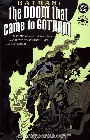 Batman: The Doom That Came to Gotham, Book 2 of 3 by Troy Nixey, Mike Mignola, Richard Pace