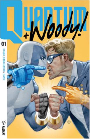 Quantum and Woody!, Vol. 1: Kiss Kiss, Klang Klang by Daniel Kibblesmith, Kano