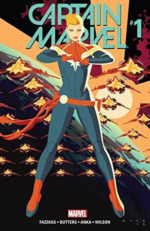Captain Marvel #1 by Michele Fazekas, Kris Anka, Tara Butters