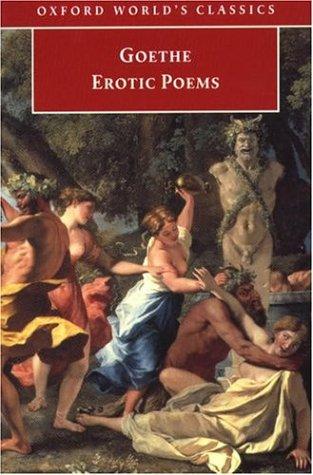 Erotic Poems by Hans Rudolf Vaget, David Luke, Johann Wolfgang von Goethe